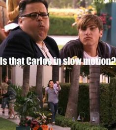 I like how BTR is sarcastic .... don't forget anything .. and always do something different ... not like the other TV show s