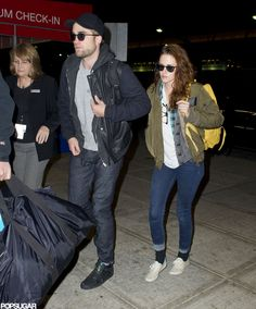 Rob and Kristen Return to LA Together: Kristen Stewart and Robert Pattinson were side by side in NYC.