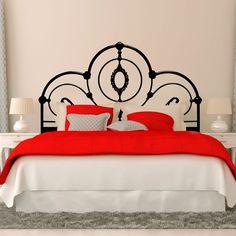 Vinilo Decorativo - Cabecero Forjado. Encuéntralo en www.pick2stick.com desde 28,60€