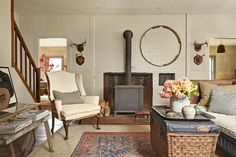 Layering Rugs for a Bordered Effect