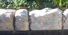 make your own fake rock tutorial -- the kids would LOVE to help with this and what a great way to add a personal touch to the yard accents! Sloped Backyard Landscaping, Ponds Backyard, Landscaping With Rocks, Landscaping Ideas, Fake Landscape Rocks, Sand Patio, Artificial Rocks, Fake Rock, Foam Cutter