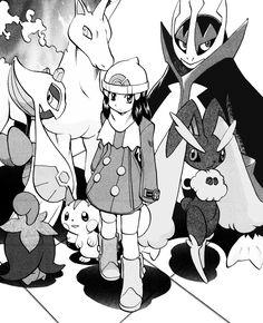 Don't fuck with Platinum Berlitz Pokemon Manga, Pokemon Oc, Pokemon People, Pokemon Comics, Pokemon Fan Art, Cute Pokemon, Pokemon Platinum, Equipe Rocket Pokemon, Pokemon Legal