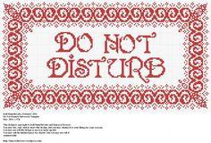 Do Not Disturb Subversive Sampler