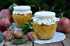 Tort cu mere si crema de zahar ars - CAIETUL CU RETETE Preserves, Pickles, Jar, Food, Drinks, Decor, Canning, Drinking, Preserve