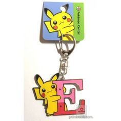 Pokemon Center 2017 Pikachu Keychain (Version E)