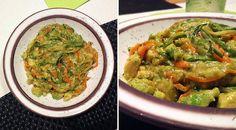 Low Carb Rezept für ein leckereLow-Carb Gemüse-Avocado Zoodles. Wenig Kohlenhydrate und einfachzumNachkochen.Super für Diät/zum Abnehmen.