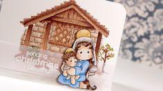 Magnolia Stamps Christmas Card