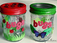 """Make your own lightning bug jar, then spend rest of the night catching them. Then have a """"release party"""" at the end of the party"""