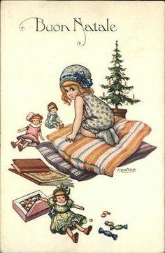 A. Bertiglia - Buon Natale Postcard
