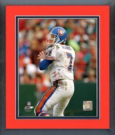 48c9aaf6 Emmanuel Sanders Signed Denver Broncos Jersey – Miller Memorabilia. See  more. John Elway Denver Broncos Framed Matted Photo 22 1/2 x 26 1/2