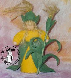 Blumenkinder-Werkstatt: Mais, Corn