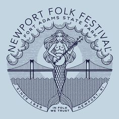 Newport Folk Festival ID by Brian Steely