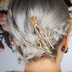 Tree Branch Twig Hair Pin