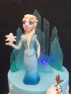 Elsa and Isomalt Castle