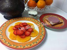 Desayuno saludable con pan casero de avena y semillas de lino dorado. Receta en blog unsuenodulce.blogspot.com.es