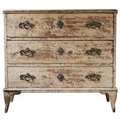 18th Century Swedish Rococo Chest of Drawers