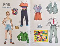 It is from the Hobby Doll series and is of Bob whose hobby is collecting travel stickers. It is in good condition. Jack and Jill Magazine Paper Doll. More outside the US.   eBay!