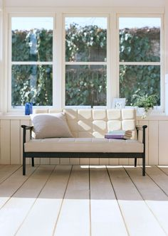 simple couch for the guest room