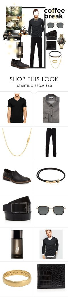 """""""COFFEE"""" by dixiemartel ❤ liked on Polyvore featuring Calvin Klein, Versace, Naot, Luis Morais, Salvatore Ferragamo, Thom Browne, Alford & Hoff, SELECTED, Givenchy and Vivienne Westwood"""