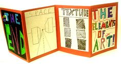 Lessons from the K-12 Art Room: Elements of Art Accordion Book