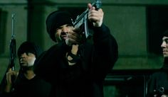 Watch Drake showcase his action-star skills in his dramatic gangster-style music video to 'Hold On We're Going Home' right here… Gangster Style, Going Home, Hold On, Music Videos, Fictional Characters, Watch, Action, Star, Video Clip