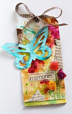 Memories Tag - Scrapbook.com Wendy Schultz via Scrapstitches onto TAGS.