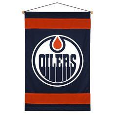 ATHLEZ - Edmonton Oilers Sidelines Wall Hanging Banners 60b359b82