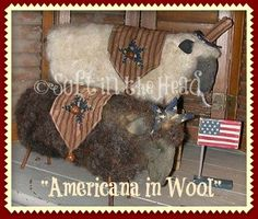 Americana in Wool E-Pattern by softinthehead on Etsy