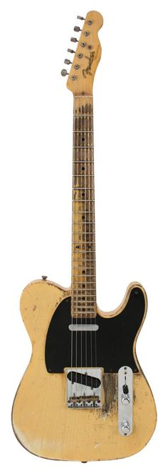 Fender Custom Shop 53 Telecaster Heavy Relic Nocaster Blonde Electric Guitar | Rainbow Guitars