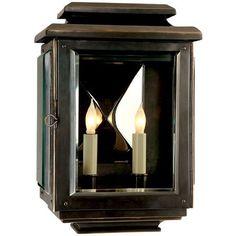 Visual Comfort Lighting E.F. Chapman Kensington 2 Light Wall Lantern