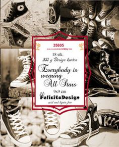 Felicita design Toppers - Everybody is wearing All Stars - Felicita design Toppers - Everybody is wearing All Stars