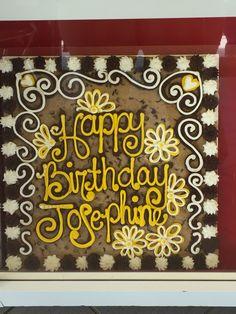 Josie Cookie Cake Designs, Cookie Cakes, American Cookie, Decorated Cookies, Cookie Decorating, Cake Ideas, Decorated Sugar Cookies