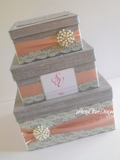 Wedding Gift Box, Card Box, Money Holder  - Custom Made #wedding #gifts #ideas
