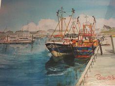 Watercolour Painting Jigsaw Puzzle Roisin Oshea Ireland Kilmore Quay Wexford #FineArts