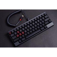 HKP Maroon/Black Topre blank key (keycap)