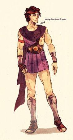 Male!Megara #Maby-chan