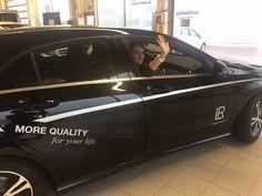 LR Suomen ensimmäinen Mercedes Benz A-class luovutettiin tänään!  Onnea UPEALLE  Manager-tiimille, Olga Larkinalle ja Oleg Gorbatcheville!! Johtotähden myötä lisää menestystä ja kilometrejä! Tämän päivän autonluovutuksesta tulossa myös video, stay tuned :) #kosmetik #parfum #aloevera