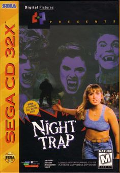 Since we're all talking about remastered games here's my vote. (Night Trap; Sega CD 32x)