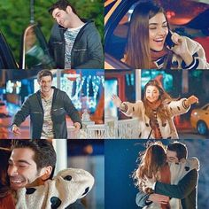 Cute Love Couple, Best Couple, Romantic Couples, Cute Couples, Murat And Hayat Pics, Cute Love Stories, Love Scenes, Hande Ercel, Turkish Beauty