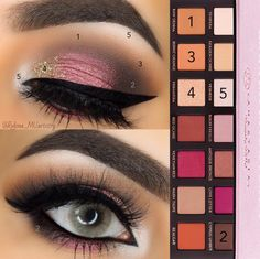 Pictorial using LOTUS lashes No. 308 & Anastasia Beverly Hills Modern Renaissance Palette