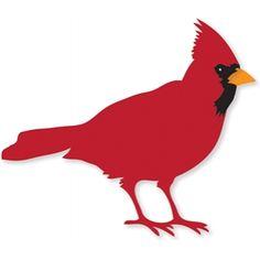 cardinal silhouette clip art printables graphics pinterest rh pinterest com clipart cardinal bird