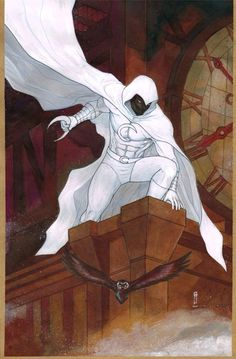 Moon Knight by Garrie Gastonny *