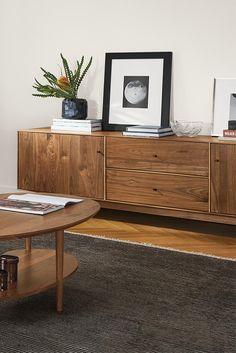 Hudson Media Cabinet Media Storage, Storage Shelves, Shelving, Nice  Furniture, Furniture Design