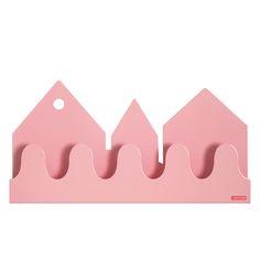 Roommate kapstok Village pastelroze