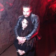Jason Momoa & Lisa Bonet @prideofgypsies | #theredroad premiere at the #batcave. it's coming out this week!! - #feb27 @SundanceTV