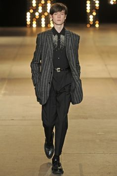 LOOK | 2014-15 FW PARIS MEN'S COLLECTION | SAINT LAURENT | COLLECTION | WWD JAPAN.COM