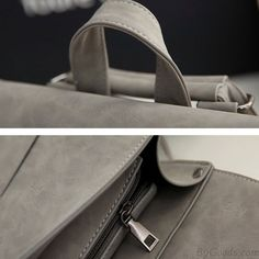Finally! I found the Retro Frosted Metal Lock Flap Backpack Multifunction Shoulder Bag With A Back Headphones Hole PU Square Backpack from ByGoods.com. I like it so so much!