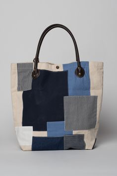Madison Patchwork Tote Bag