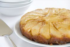 Upside down Pear Cake | Recipes For Food Lovers Including Cooking Tips At Foodlovers.co.nz