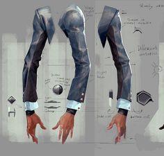 《耻辱2》大量艺术设定图释出